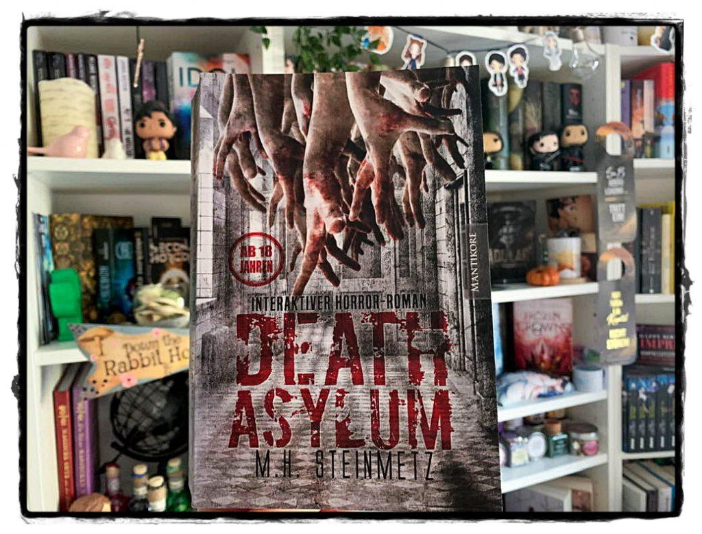 """alt=""""Death Asylum - Interaktiver Horror-Roman"""""""